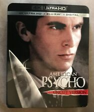 New listing American Psycho 4k with original slip cover
