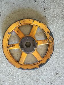 """Woods Belly Mower Main Tractor Pulley For Farmall A 10"""" Diameter Part # 10553"""