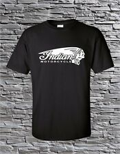 Indian Motorcycle Chief Head Vintage American T-Shirt Blend S M L Xl
