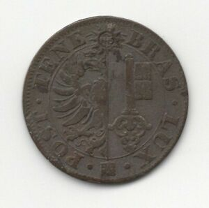 1840 GENEVA SWITZERLAND BILLON 5 CENTIMES