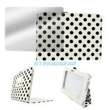 NEW CASE COVER+SCREEN PROTECTOR STAND POUCH PU WHITE DOT AMAZON KINDLE FIRE HD 7