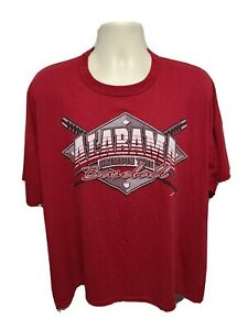 University of Alabama Crimson Tide Baseball Adult Burgundy 2XL TShirt