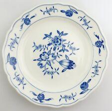 #e8348 Meissen Porcellana Piatto 2. scelta con motivo mele BLU BIANCO