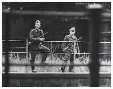 Aug 1961 Crisis West Berlin East German Border Guards 6x5 inch Photo Reprint