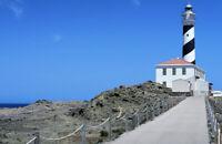 "Cape Favaritx Lighthouse, Spain Photograph Art Print 11"" x 17"""
