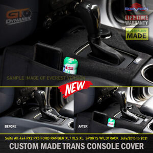 Shevron Transmission Console Cover for Ford RANGER 4x4 AUTO PX2 PX3 XLT 2015-21