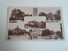OLD Real Photo Postcard HARROGATE Multi-View Stamped+Franked 1923  §A1240