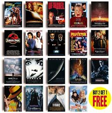 CLASSIC 90s MOVIE POSTERS A3 Size Photo Print Film Cinema Wall Decor Fan Art