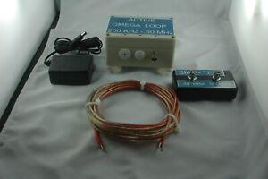 ACTIVE LOOP  OMEGA 200 KHz - 50 MHz