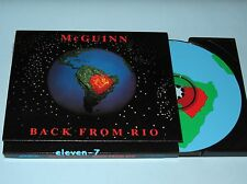 ROGER MCGUINN Back from Rio - SPECIAL EDITION – CD BYRDS brand new