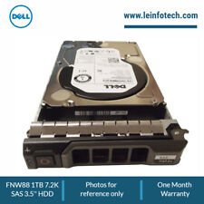 FNW88 Dell 1-TB 6G 7.2K 3.5 SAS HDD w/F238F PowerEdge R-Series R630 R710 R715
