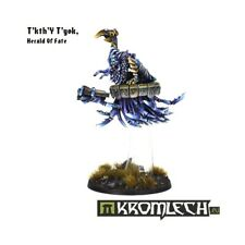CHAOS DAEMONS T'kth'Y T'yok herald of fate 40K NEW Kromlech herald on disk