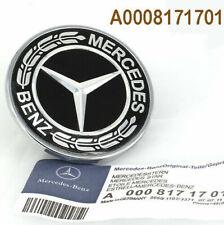 OEM 0008171701 FLAT Hood Emblem AMG Badge for Mercedes-Benz W20 W204 W205 W211