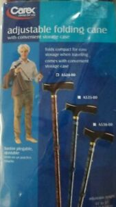 CAREX Derby Folding Cane RED (FREE SHIPPING)