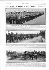 1914 Russian Army Troopers Cavalry Artillery East Prussia Galicia