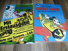 MICKY MAUS  1/1951 -- das ERSTE DEUTSCHE MICKY-MAUS-HEFT / OVP Original Verpackt