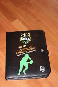 2009 NRL Select Champions official album PLUS FULL SET  195-card basic