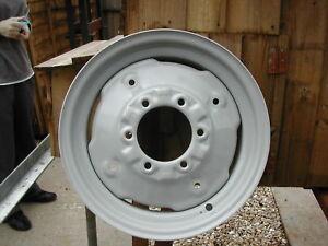 TRACTOR STEEL FRONT WHEEL RIMS