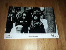 Deep PURPLE-Promo Press Photo 1990-Jon Lord-Ritchie Blackmore Roger Glover