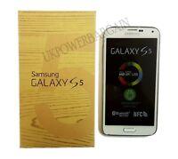 Samsung Galaxy S5 White SM-G900F 16GB Unlocked To All Network Smartphone Phone
