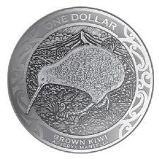 Neuseeland - 1 Dollar 2019 - Kiwi - 1 Oz Silber ST