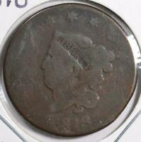 1818 Coronet Head Large Cent Good Condition #152859