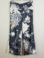 [ ANNA GLOVER X H&M ] Womens Floral Print Culotte / Pants  | Size AU 12 or US 10