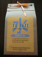 Te Tao Chinese Herbal Therapy Bathtub orange flower Tea Bags -3 bags