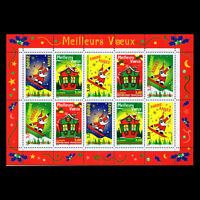 France 1998 - Greeting Stamps (Full Sheet) - Sc 2685b MNH