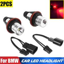 2x for BMW E39 E60 E87 X5 LED Angel Eye Halo Ring Marker Side Light Red LED Bulb