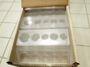19 WHITMAN 5 Coin Mint Set Holders Cent Nickel Dime Quarter Half Dollar *W-101