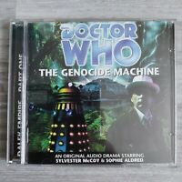 Doctor Who The Genocide Machine #7, 2000 Big Finish CD