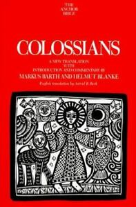 Anchor Bible Series Vol. 34B - Colossians - Hardcover