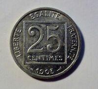 Frankreich - 25 Centimes - 1903 - 3. Republik - vz-stgl / xf-unc