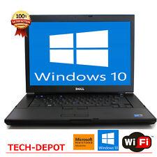DELL Latitude Laptop Windows 10 Intel Core 2 Duo 4GB WiFi Notebook Computer HD