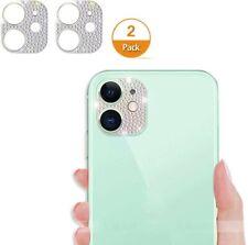 KRUEENGEMMESiPhone 11 Bling Camera Lens Protector, Cute Decoration (2 Pack)