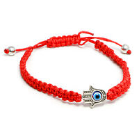 Blessed Red String Wrist Bracelet Amulet Against Evil Eye from Holy Land Israel