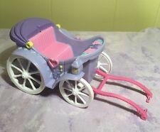 Barbie Horse Carriage Purple White Flowers Coach Elegant Princess
