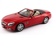 NOREV 2012 MERCEDES BENZ SL 1:18 RED *BACK IN STOCK- Rare Dealer Edition!