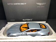 AUTOart 1:18 Aston Martin One-77 (Villa D'Este Blue) BRAND NEW