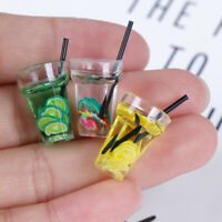 1:12 Scale Cup Drink For Dollhouse Miniature Toy Doll Food Kitchen Accessories#