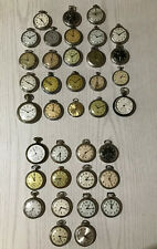 work - 23 don't work - Free Shipping  Lot of 37 Vintage Pocket Watches - 14