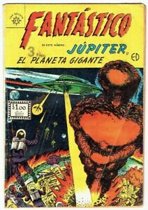 MARVEL GOLDEN AGE THE SUBMARINER MEXICAN COMICS FANTASTICO IN SPANISH VERY RARE!