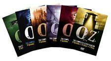 Oz ALL Season 1-6 Complete Series DVD Set Collection TV Show Lot Episode Box HBO