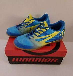 Warrior SJIGCIBL Kids Enfants Indoor Soccer Foot Blue/Yellow Medium Sz 2.5