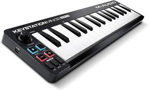 MIDI Controller M-Audio Keystation Mini 32 MK3 Ultra Portabel Keyboard schwarz
