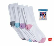 Hanes Sport™ Women's Cushioned Crew Socks Size 5-9  (Special Value Packs)