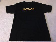 THE FIRM HNL HAWAII PENDANT TEE SHIRT BLACK XXL aloha army