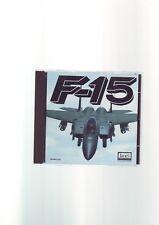 F-15 - 1998 JANE'S COMBAT SIMULATIONS PC GAME - ORIGINAL JC EDITION - VGC