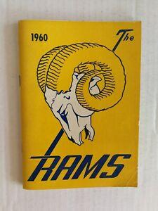 Los Angeles Rams 1960  NFL Football Media Guide MINT